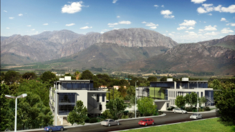 Paarl first commercial green building