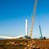 Wind turbines take shape in Jeffreys Bay