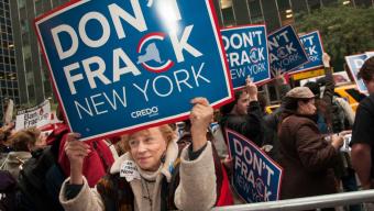 New York State Bans Fracking