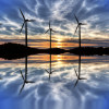Global wind energy production increased 44%