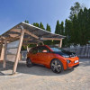 BMW South Africa unveils solar car port of for EV charging