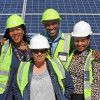 Department of Education and practitioners visit Droogfontein Solar
