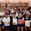 Noupoort Wind Farm support Eureka Primary schools library