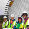 Community members with Mpendulo Programme visit Jeffreys Bay Wind Farm