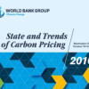 World Bank release report on trends in carbon pricing