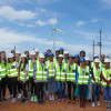 Girls for STEM are inspired by renewable energy on visit to JBay wind farm