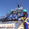 Solar Water heating development program