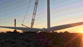 Khobab wind farm celebrates all turbines in place