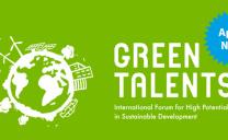 Green Talents closing date 23rd April