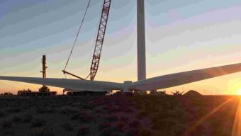 Khobab wind farm celebrates all turbines in place